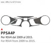 PRINT Naklejka na półkę kierownicy Aprilia RSV4 from 2009 till 2016