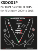 PRINT naklejki na motocykl Aprilia RSV4 2009/2015
