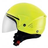 Kask motocyklowy KYT COUGAR żółty