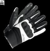 Rękawice motocyklowe BUSE Open Road Evo czarno-białe