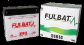 Akumulator FULBAT 51814 (suchy, obsługowy, kwas w zestawie)