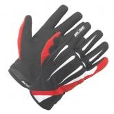 Rękawice motocyklowe BUSE G-MX Pro czarno-czerwone