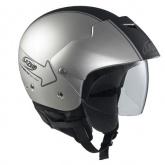 Kask motocyklowy LAZER BE-BOP Graph Plus srebrny/czarny