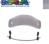 Szyba motocyklowa MRA UNIVERSAL VTA-TYP 1    28/23 CM, , -, forma VTA, przyciemniana