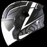 Kask Motocyklowy KYT NF-J MOTION biały - XL