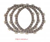 ProX Zestaw Tarcz Sprzęgła (Cierne, Przekładki) KTM250SX-F '13-15 + 350SX-F (OEM: 78132010010)