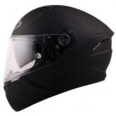 Kask motocyklowy KYT NF-R czarny matowy