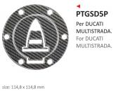 PRINT naklejka na wlew paliwa Ducati MULTISTRADA