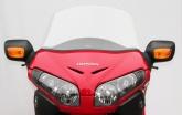 Szyba motocyklowa MRA HONDA GL1800 F6B BAGGER, SC68, 2012-2017, forma AR, przyciemniana