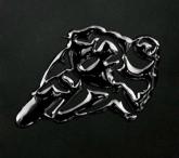 PRINT naklejka ecoprint 3D soft touch moto czarne