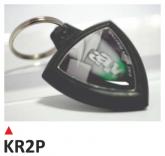 PRINT brelok na klucze, z dwustronną etykietą - KAWASAKI