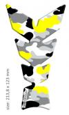 "PRINT tankpad Moon ""Soft touch"" camouflage żółte fluo"