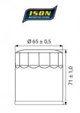 Filtr Oleju ISON303