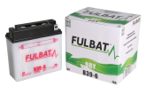 Akumulator FULBAT B39-6 (suchy, obsługowy, kwas w zestawie)