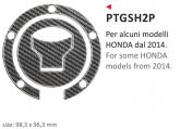 PRINT naklejka na wlew paliwa Honda 2014 (some models)