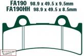 Klocki hamulcowe EBC EPFA190HH Extreme Pro (kpl. na 1 tarcze)
