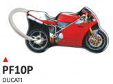 PRINT double face dome key-holder ducati