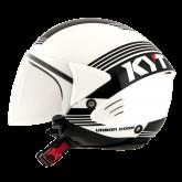 Kask motocyklowy KYT COUGAR URBAN CODE biały