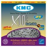 Łańcuch rowerowy KMC X10e 136 ogniw 10b e-bike