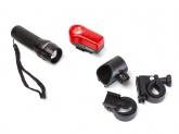 Zestaw lampek rowerowych ROMET JY-359+JY-173A
