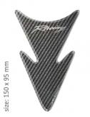 PRINT tankpad carbon MINI ARROW logo racing