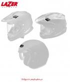 LAZER Wywietrznik górny (zestaw) BAYAMO (Front and Rear) (Biały Metal)