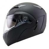 Kask motocyklowy KYT CONVAIR czarny matowy