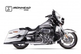 Tłumik IXIL HARLEY DAVIDSON TOURING ROAD KING 2006-2016 typ HC2-1B (SLIP ON, LEFT MUFFLER)
