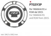 PRINT naklejka na wlew paliwa Yamaha R1 e Yamaha R1M 2015