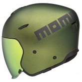 Kask Motocyklowy MOMO AERO (Green Matt / Grey Matt) rozm. 2XS