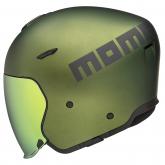 Kask Motocyklowy MOMO AERO (Green Matt / Grey Matt) rozm. S