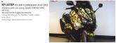 PRINT zestaw naklejek motocyklowych do tmax from 2012 to 2014 mimetic żółte fluo