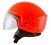 Kask motocyklowy KYT COUGAR czerwony