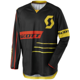 Bluza Scott 350 DIRT 1040 black/yellow