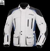 Kurtka motocyklowa BUSE Highland szaro-niebieska