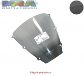 Szyba motocyklowa MRA APRILIA AF 1-50 REPLICA, ER/EU, 1989-1990, forma O, czarna