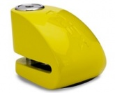 Blokada na tarczę z alarmem XX14 żółta - bolec 14 mm