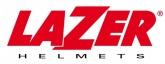 LAZER Chinguard LUGANO Z-Generation(Black - Red Metal - White - Matt)