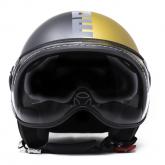 Kask Motocyklowy MOMO FGTR EVO (JOKER Asphalt / Gold/ Grey) rozm. 2XS
