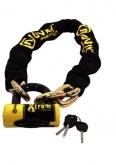 Zestaw łańcuch z kłódką XTREM AUVRAY - długość 100 cm, średnica 13,5 mm