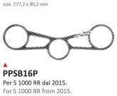 Naklejka na półkę kierownicy PRINT Bmw S 1000 RR 2015