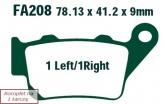 Klocki hamulcowe EBC EPFA208HH Extreme Pro (kpl. na 1 tarcze)