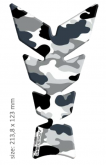 "PRINT tankpad Moon ""Soft touch"" camouflage artic"