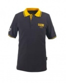 Koszulka polo GAERNE G-POLO 1962 męska czarno-żółta M
