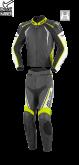 Kombinezon motocyklowy BUSE Silverstone Pro czarno-neonowy