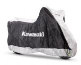 Pokrowiec Zewnętrzny Kawasaki Czarny XL z Kufrem