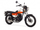 Motorower Romet Ogar Caffe 50 Pomarańczowy