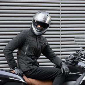 Kask Motocyklowy MOMO HORNET (MONO Light Grey / Silver) rozm. ML