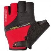 Rękawiczki rowerowe CHIBA Gel Comfort Plus czerwone