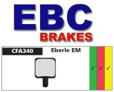 Klocki rowerowe EBC (spiekane) Eberle EM CFA340HH